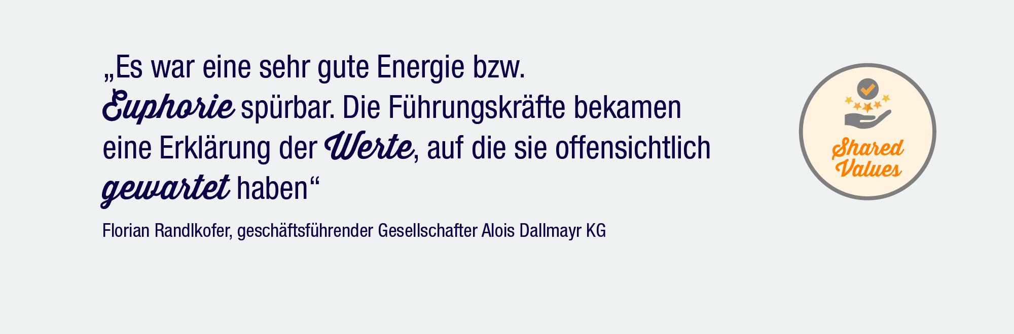 Statement Florian Randlkofer